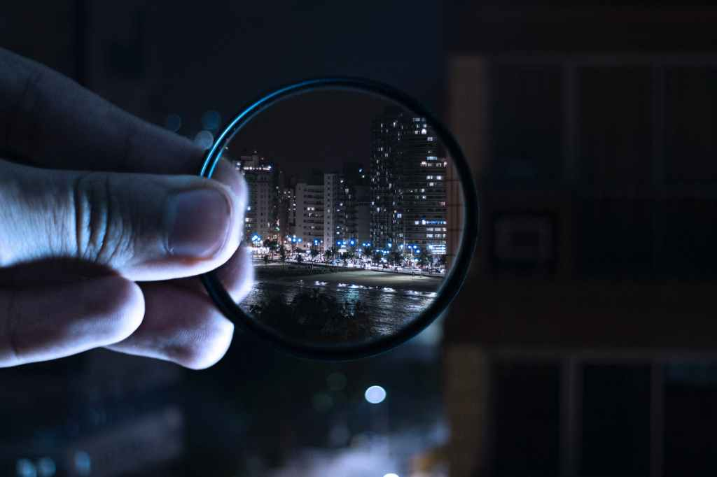 A camera filter - to alter how something is perceived